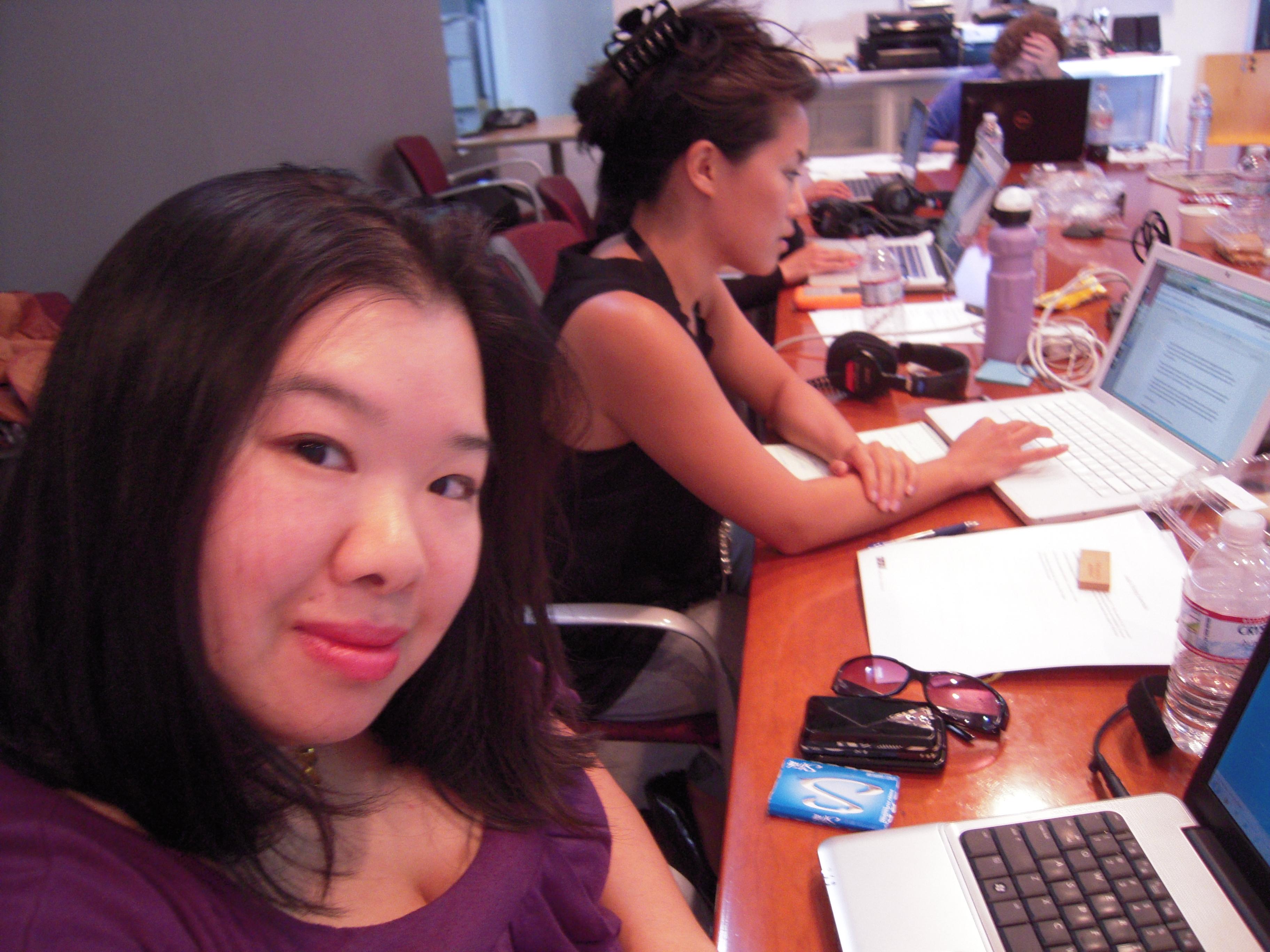 2010-08-04 - Joz at NPR Training