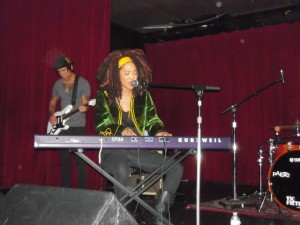 Judith Hill performing at Opening Night Reception in the Highlands Hollywood