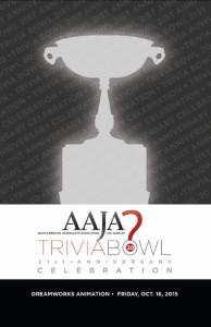 2015 AAJA Trivia Bowl program front