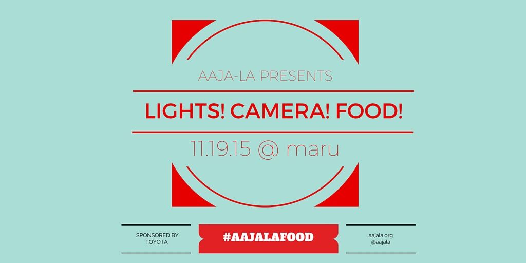 Lights! Camera! Food!