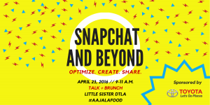 SNAPCHAT AND BEYOND (Eventbrite)-1