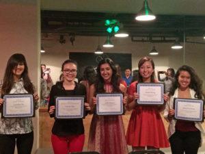 2016 Chapter Scholarship Recipients